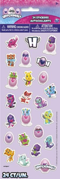 Hatchimals Puffy Sticker Sheet